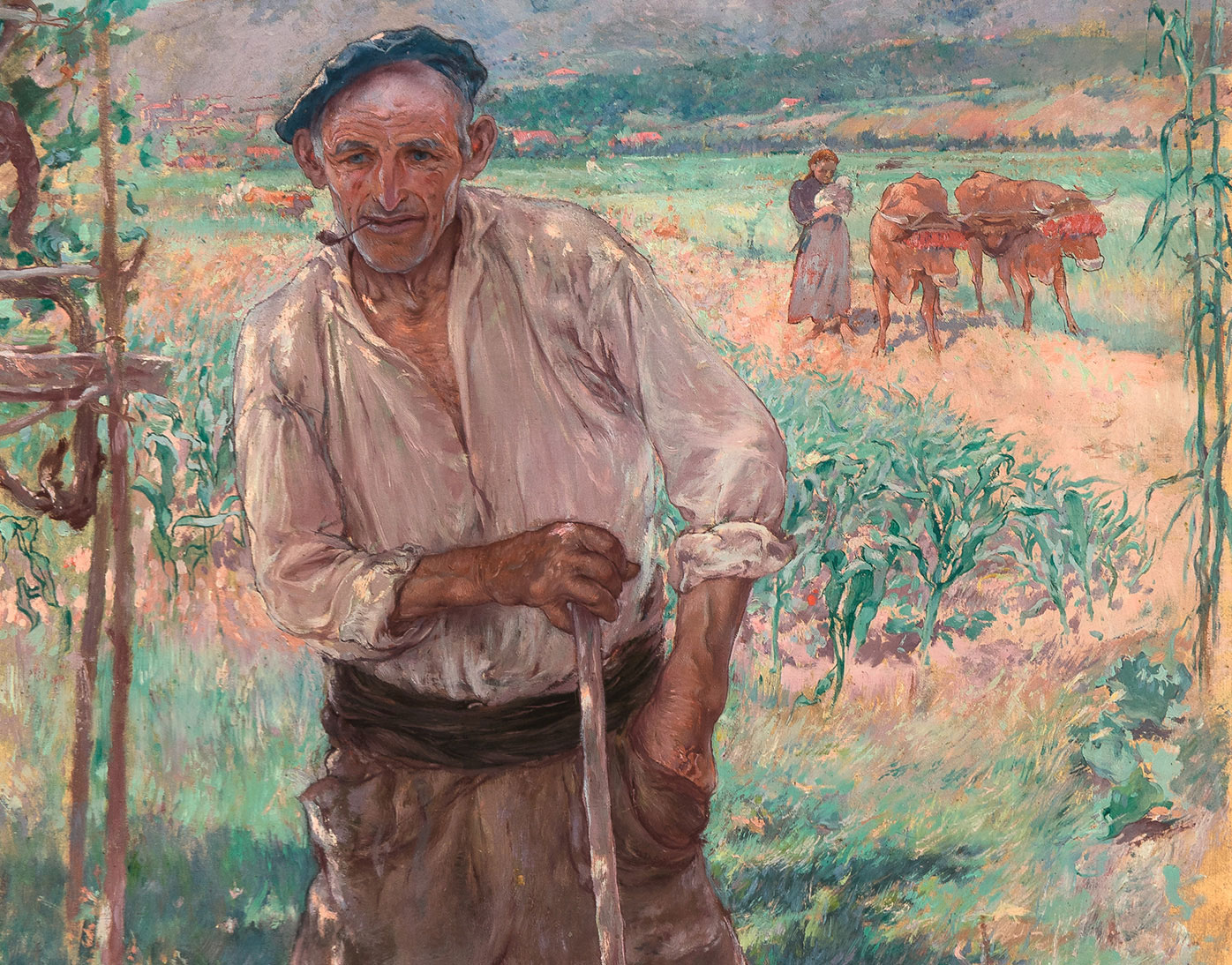 El foco del norte en la propagaci n del impresionismo en - Pintores en bilbao ...