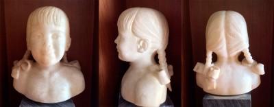 Busto de Maite Zubiaur Carreño, de Juan Miguel Echeverría San Martín