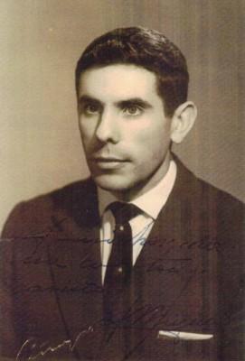 Juan Miguel Echeverría San Martín hacia 1962