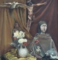Óleo de Juan Miguel Echeverría San Martín