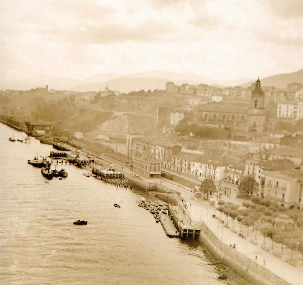 Portugalete en 1934